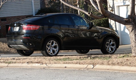 First Production BMW X6 Caught In The Wild