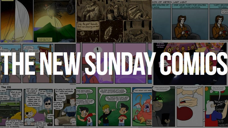 Vote on Your New Sunday Comics Lineup!