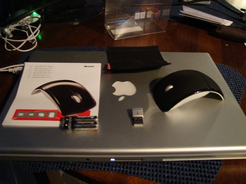 Fresh Pics of Collapsible, Portable Microsoft Arc Laser Mouse