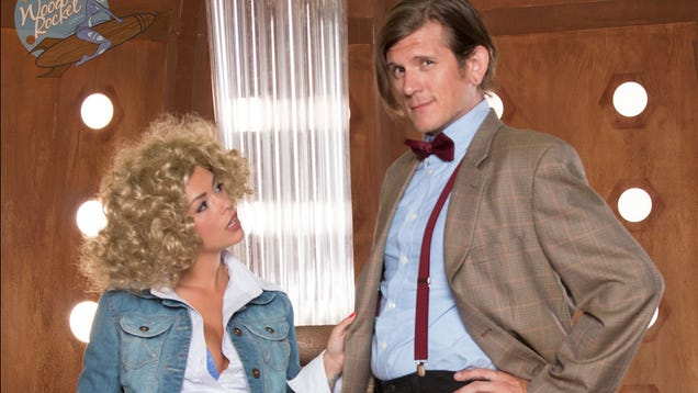 Geronimo! First Work-Safe Look At The New X-Rated Doctor Who Spoof