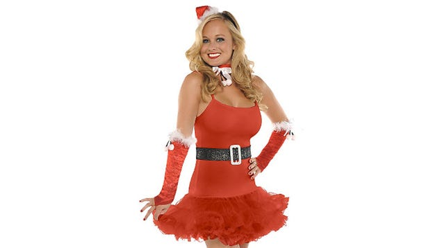 Very slutty christmas skimpy costumes aren t just for halloween