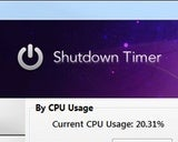 Shutdown Timer Triggers Windows Lockdown, Shutdown, and More