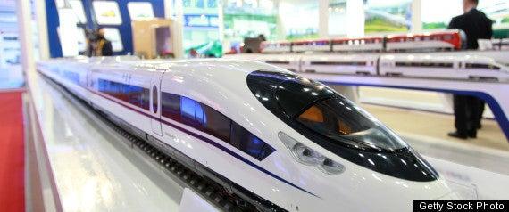 Obama's $53 Billion High Speed Rail Dream