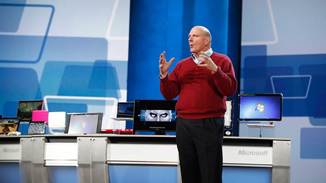 Steve Ballmer Suggests That Surface Isn't Going to Try to Beat Anyone on Price