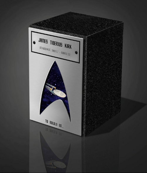 Trekkie Ashes Can Only Be Stored In A Star Trek Urn