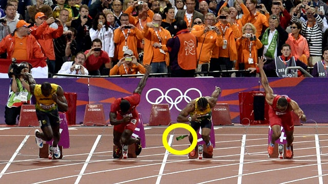 Some Asshole Threw a Bottle at Usain Bolt Right Before His Race Yesterday