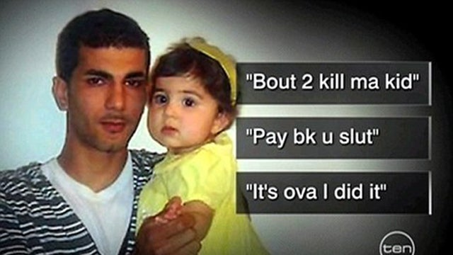 Asshole Father Updated Facebook Before He Stabbed His Two Year Old Daughter to Death