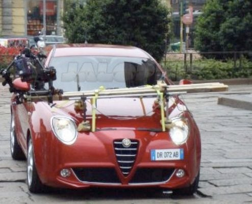 Alfa Romeo Mi.To Showing Cute Side At Milan Marketing Shoot