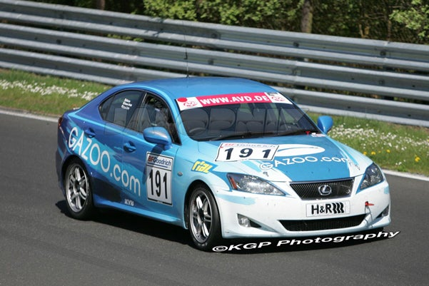 Lexus IS Mystery Solved: It Was An Endurance Racer In Germany With The Candlestick