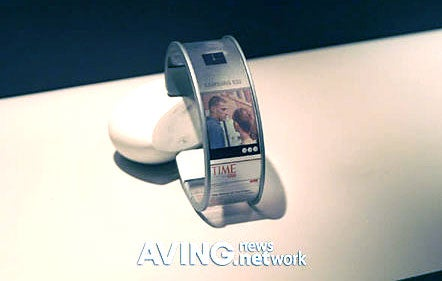 Samsung Shows Off Wild-Ass Flexible Displays