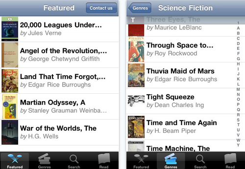 Download 700+ Free Scifi Books Onto Your iPhone