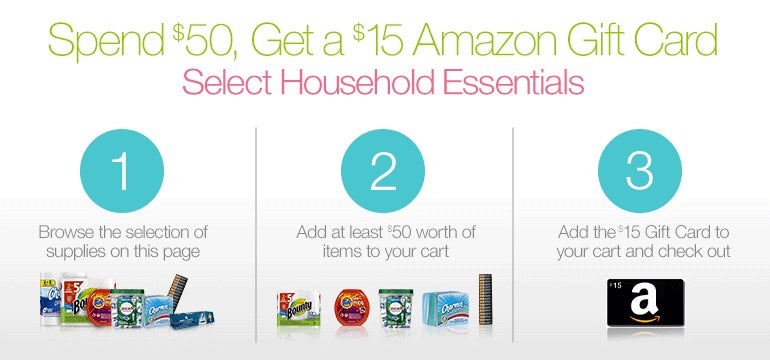 Deals: Smartphone Car Gear, $50 Household Purchase = $15 Amazon Card