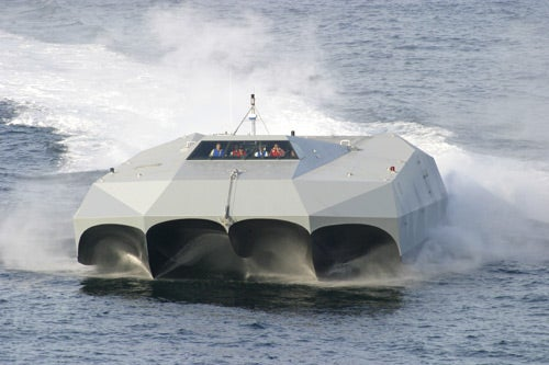 "Navy ""Batman Boat"" Has Drug Runners Thinking They're Being Chased By UFOs"