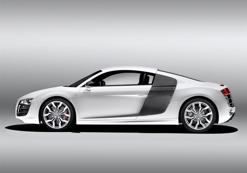 Audi R8 V10: Full Details, More Images