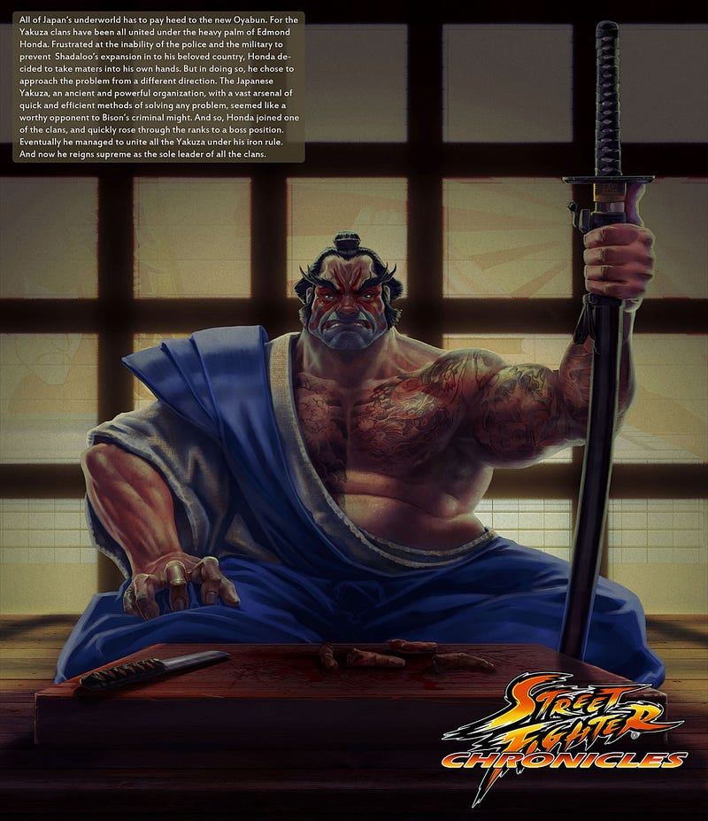 Ever Wonder What Happened to all the Street Fighters?