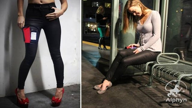 Smartphone Jeggings Prove Mankind Deserves To Be Wiped Out By an Asteroid