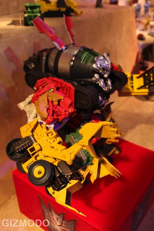 Constructicons Devastator Toy Is The Latest Voltron of Transformers, Cement Mixers