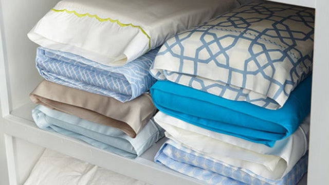 Store Sheet Sets Inside a Pillowcase