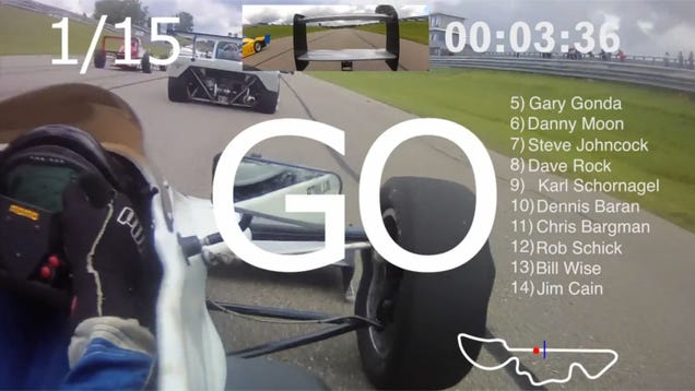 Watch A Formula Continental Start From The Back Row And End Up First