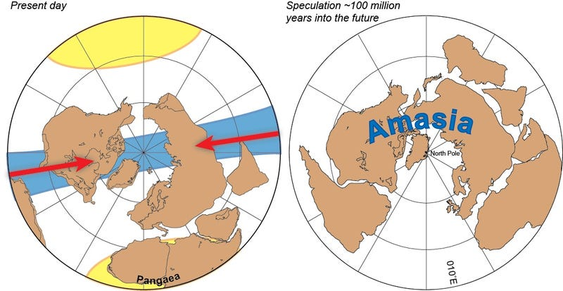 The World's Next Supercontinent: Amasia!