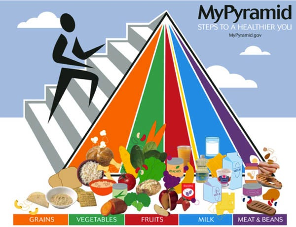 The Food Pyramid Is Dead, Meet MyPlate