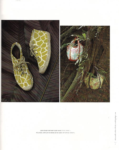 March Anthropologie: A Lush, Tropical Dream With Nightmarish Shoes