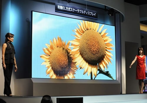 149 Inches of Goodness makes Mitsubishi Size Queen of OLED