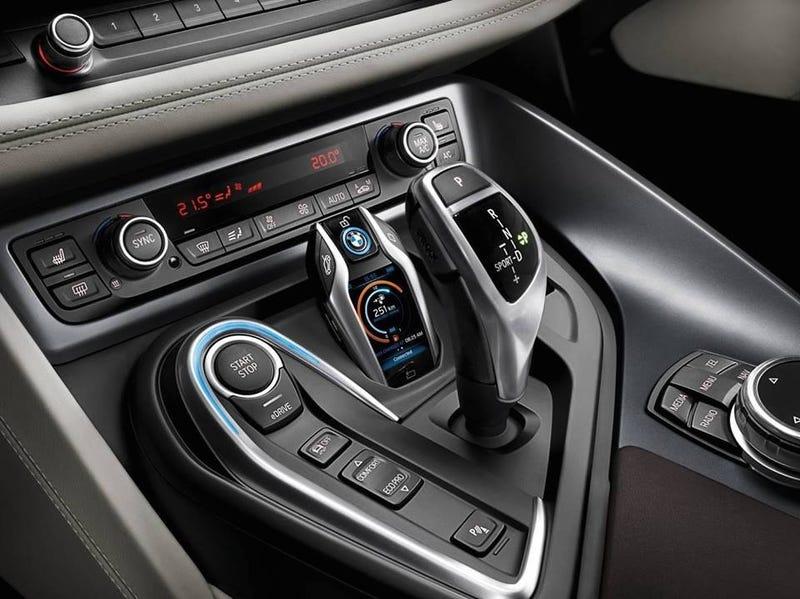 BMW i8 Center Console