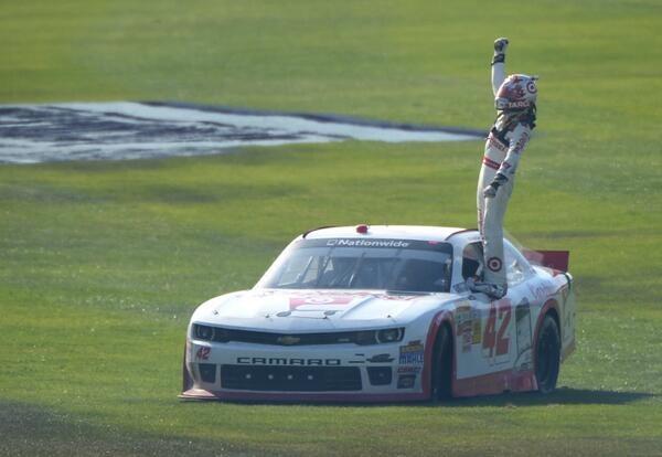 Rennsport Weekend Review: Fontana Has Good NASCAR Races Now