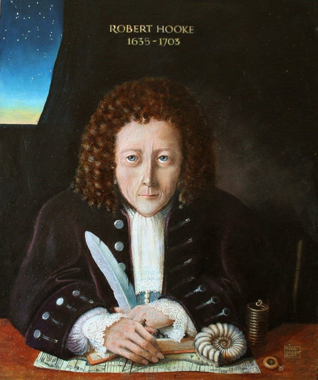 Was Robert Hooke really the greatest asshole in the history of science?
