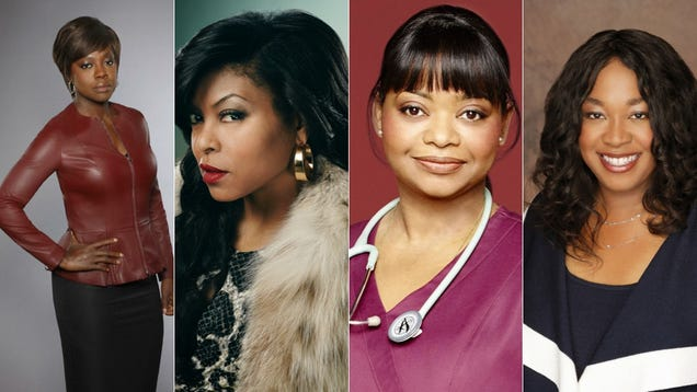 It's Raining People of Color on TV Thanks to Shonda Rhimes, Scandal