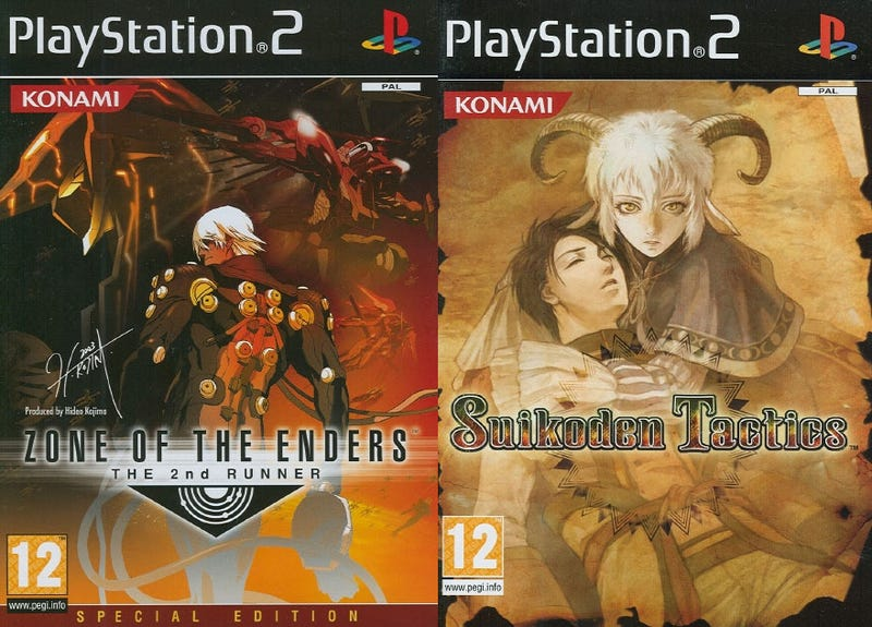 Konami Re-Issuing Classic PS2 Titles (Metal Gear, ZOE, etc)