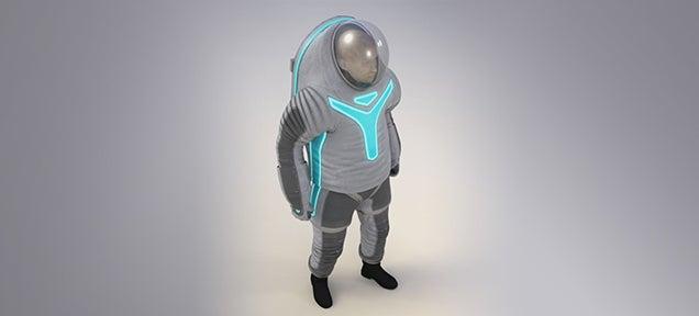 NASA reveals its next generation Tron spacesuit