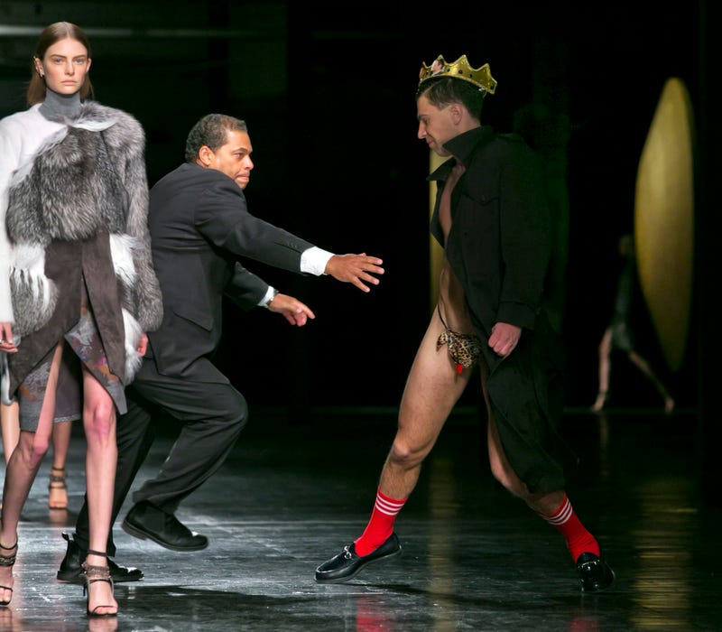 Infamous Prankster Thong-Bombs New York Fashion Week Runway Show