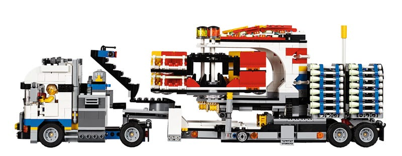 The Next Great LEGO Set Captures The Magic (And Puking) Of A Carnival