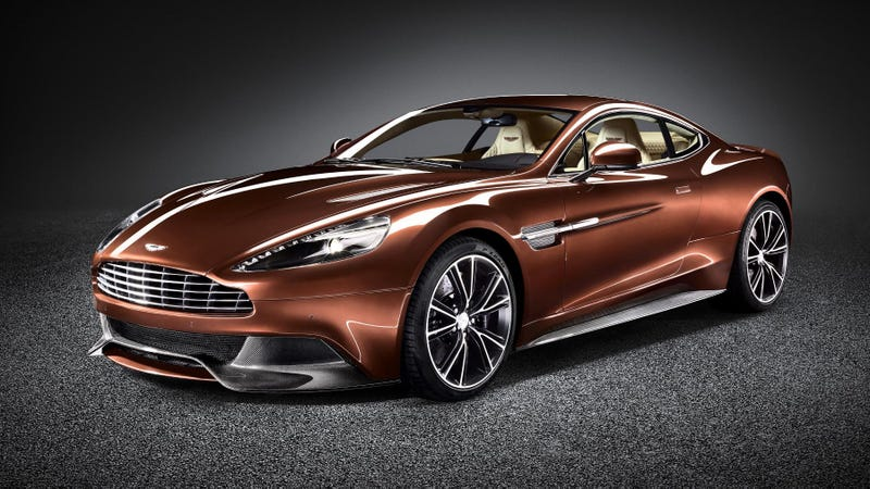 Aston Martin AM 310 Vanquish: Straight Up Car Porn