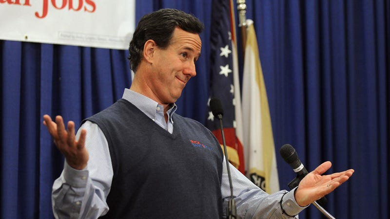 Rick Santorum Makes the Bizarre Promise to Never Speak the Name of Any Former President