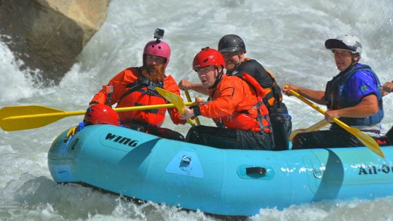 Win A Whitewater Rafting Trip In California For You And Your Friends