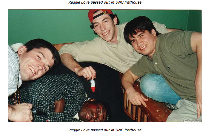 Can Reggie Love Hold His Roofies?