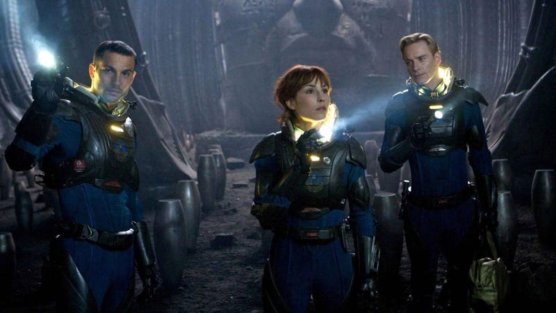 Ridley Scott and the cast of Prometheus talk the film's human-like androids and Alien's influence