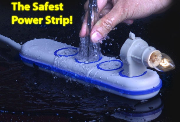 This Waterproof Power Strip Scares Me