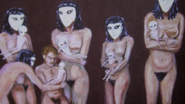 The Erotic Art of a Painter Who Claims an Alien Took His Virginity