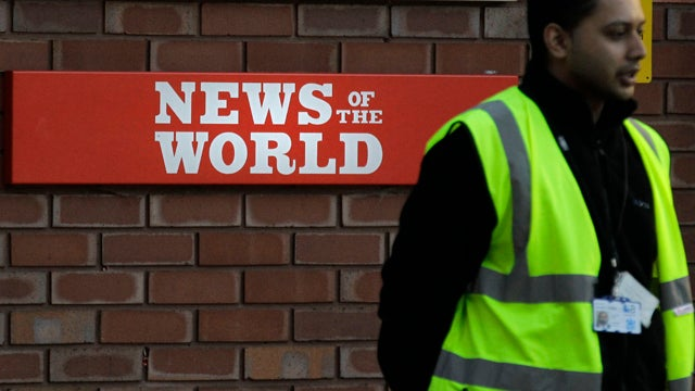 News Of The World Closes, Paper Tries To Comfort Employees With Booze