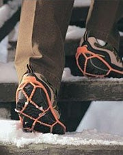 Yaktrax shoe snow chains