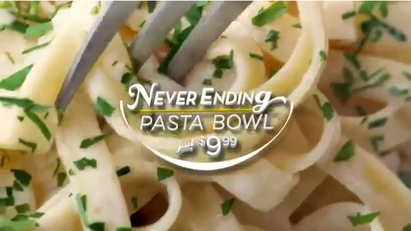 Olive Garden Is Probably Worse For You Than McDonalds