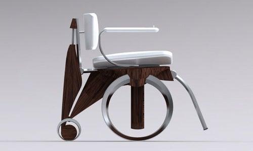 Nimbl Wheelchair Has Hubless Wheels and Go-Go-Gadget Seat