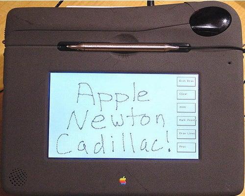 Unreleased Apple Newton Tablet Bic/Cadillac Gallery