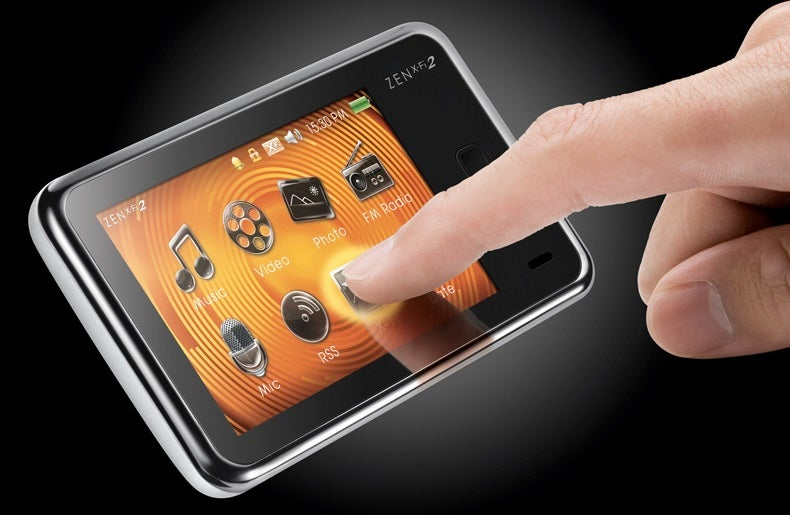Creative Zen X-Fi 2 Trades Buttons for a Touchscreen, High Price for Low