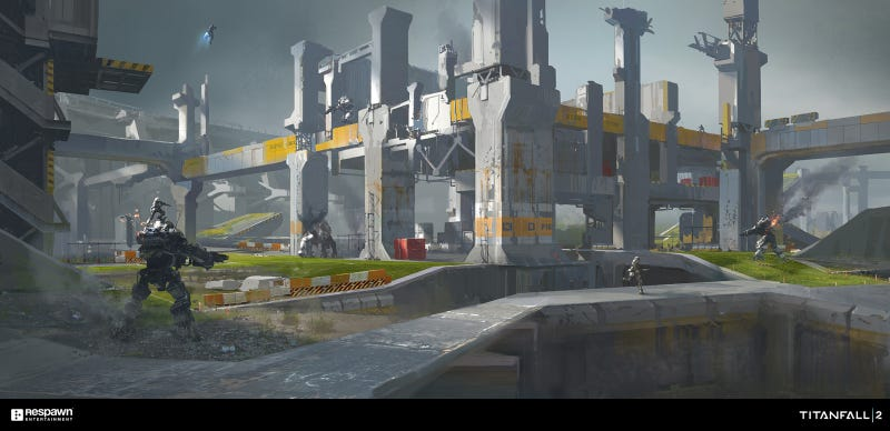 The Art Of Titanfall 2