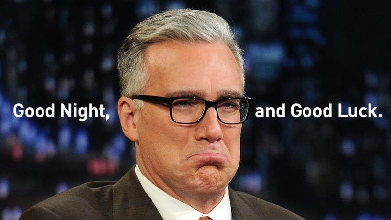 Keith Olbermann Wants To Work At ESPN Again; ESPN Responds By Swinging Its Dick Around